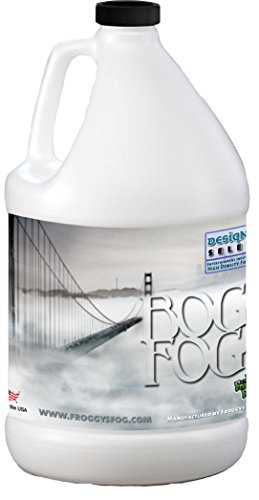 Fog Machines - Bog Fog - Extreme High Density Fog Juice - HDF Fog Machine Fluid - 1 Gallon - Best Rated and Best Seller - Water Based, American Made and Just Plain Awesome Fog