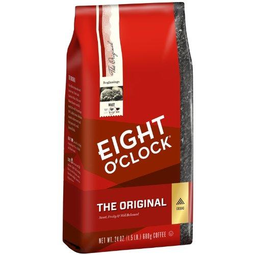 Eight O'Clock Ground Coffee, The Original, 24 Ounce