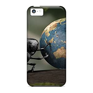 New Fashionable JenniferLynn HEgMnRx7472OnJIq Cover Case Specially Made For Iphone 5c(beetle World)