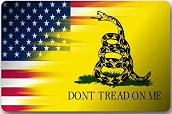 Amazon Com Don T Tread On Me On American Flag Mat Floor