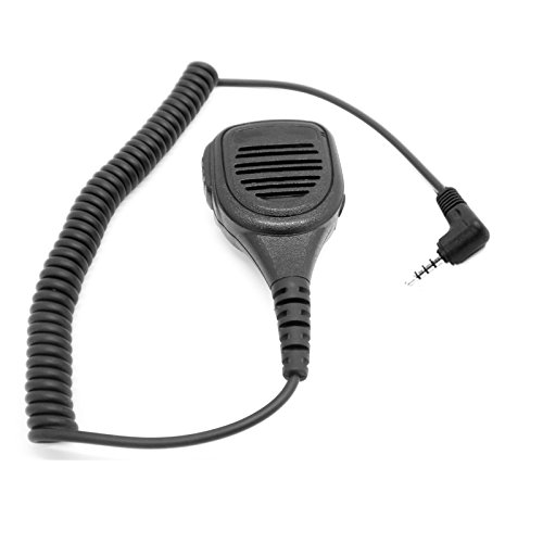 High Quality Water Resistant Radio Speaker Mic for Yaesu Walkie Talkie FT-10R FT-40R FT-50R FT-60R VX-10 VX-110 VX-130 VX-131 VX-132 VX-150 VX-160 VX-180 VX-210 VX-300 VX-400 VX-410 VX-420 VX-424 VX-427 VXF-1 VXF-10 VXF-20 VX-1R VX-2R VX-3R VX-5R