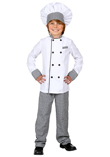 (Child Chef Costume X-Large)