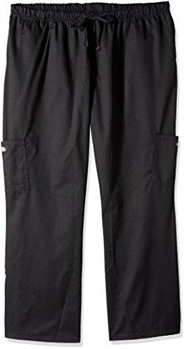 Dickies Chef Women's Plus Size Pants, Black, 4/X-Large by Dickies