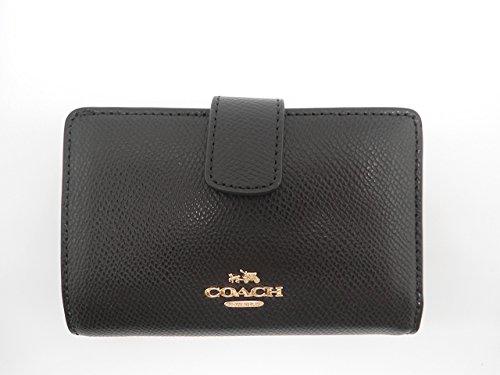 Coach Medium Corner Crossgrain Leather