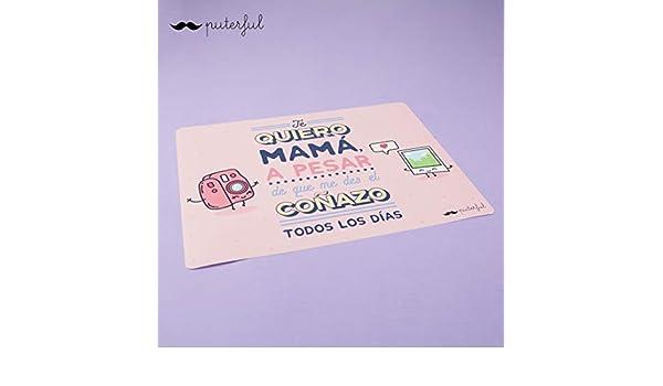 Puterful Salvamantel Quiero mamá: Amazon.es: Hogar