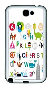 26 Letters Of The Alphabet PC Silicone For Case Iphone 5/5S Cover