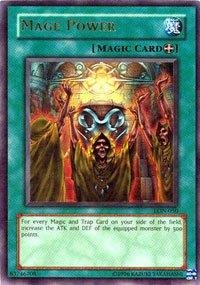 Yu-Gi-Oh! - Mage Power (LON-050) - Labyrinth of Nightmare - Unlimited Edition - Ultra Rare ()