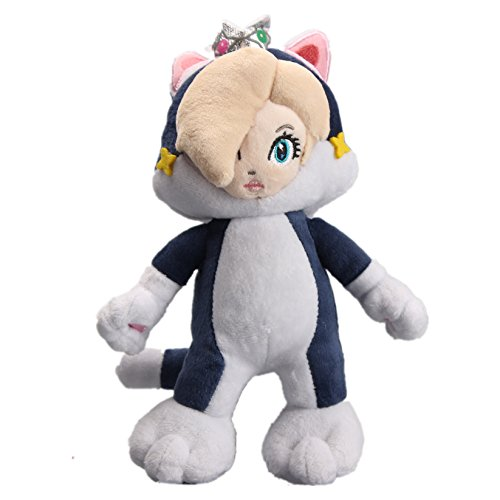 uiuoutoy Super Mario Bros. 3D World Neko Cat Rosalina Plush 9