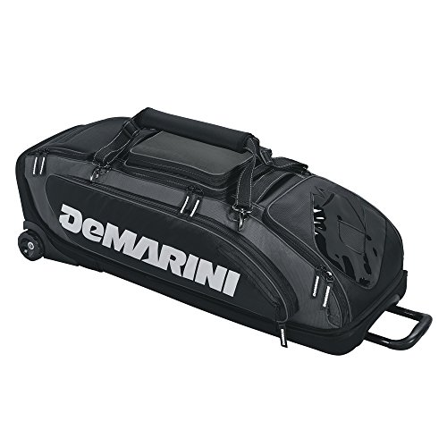 DeMarini WTD9409BL Special Ops Wheeled Bag Black