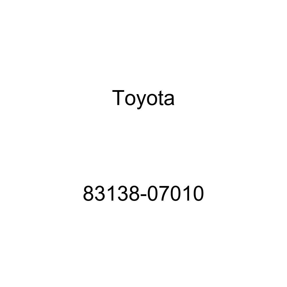 Toyota 83138-07010 Speedometer Glass