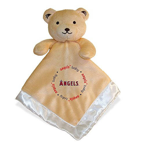 Baby Fanatic Security Bear Blanket, Los Angeles Angels (Plush Bear Boys Angel Blanket)