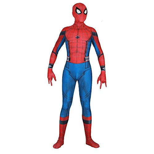 Spiderman Homecoming Suit Halloween Peter Parker Spider-man costume Outfit Suit -