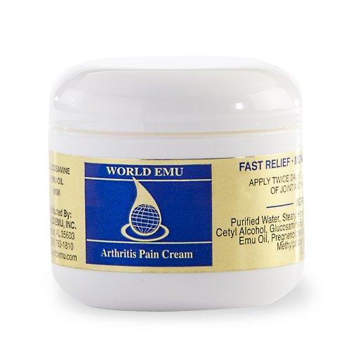 Monde L'huile d'émeu arthrite crème Pain - Inodore et Soulagement Body Balm