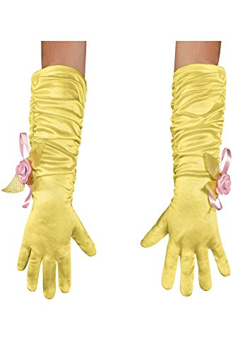 Disguise Costumes Belle Gloves, Girls, -