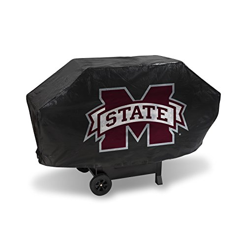 NCAA Mississippi State Bulldogs Vinyl Padded Deluxe Grill Cover