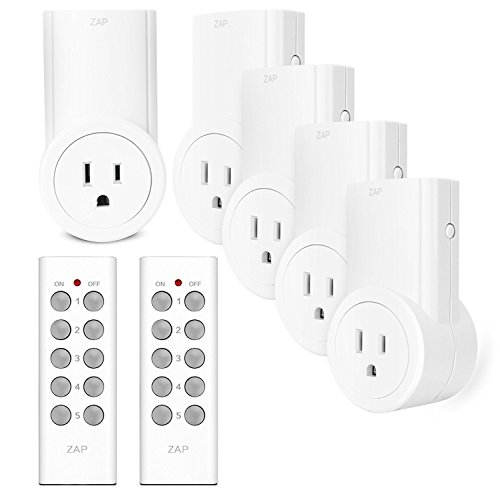 Etekcity Wireless Remote Control Electrical Outlet Switch Set $28.00 (Was $49.98)