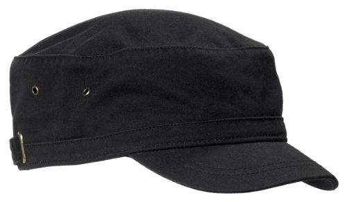 Bagedge Accessories Big (Big Accessories / BAGedge Short Bill Cadet Cap, black, One Size)