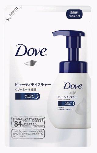 Unilever Japan Dove   Facial Cleansing   Creamy Bubble Face Wash Moisture Refill 130Ml
