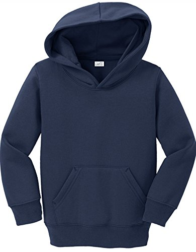 Joe's USA - Toddler Hoodies - Soft and Cozy Hooded Sweatshirts Sizes: 2T, 3T, 4T - Sweatshirt Pullover Hooded Embroidered