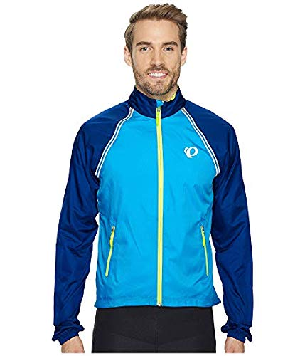 [PEARL IZUMI(パールイズミ)] メンズウェアジャケット等 Elite Barrier Convertible Cycling Jacket Blue Depths/Bel Air Blue US 2XL (2XL) [並行輸入品]   B07N5J3DPT