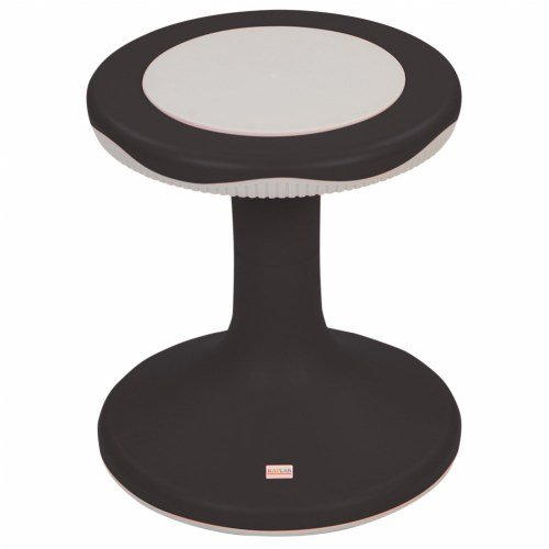 15'' K'Motion Stool - Black by Kaplan Early Learning Company