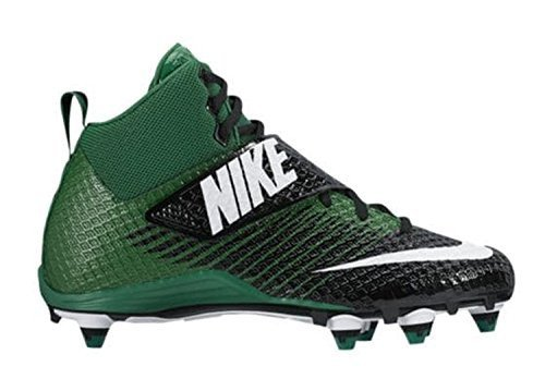 purchase cheap 86eda 58c0e Nike Mens Lunarbeast PRO TD Football Cleats (10 D(M) US, Black White-Pine  Green)