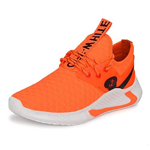 XYMBOLIC Men's Mesh Sports Running Shoes