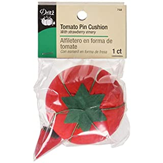 Dritz NR-356 Tomato Pin Cushion, Each, Red
