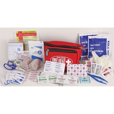First Aid Kits 130 Hikers Fanny Pack First Aid Kit