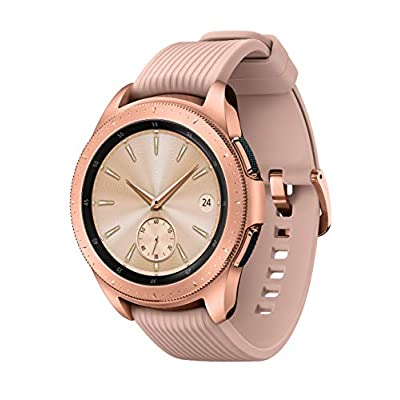 Samsung Galaxy Watch (42mm, GPS, Bluetooth) – Rose Gold (US Version)
