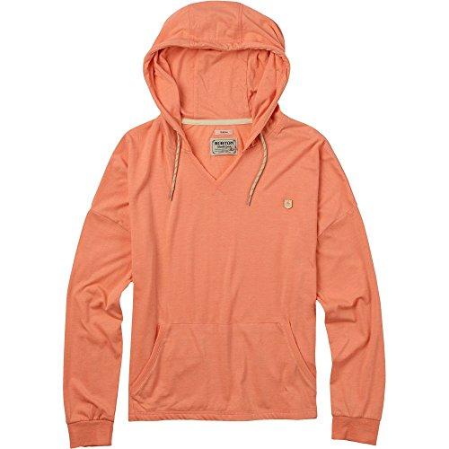 Burton Women's Favorite Pullover Hoodie, Medium, Light Orange Heather
