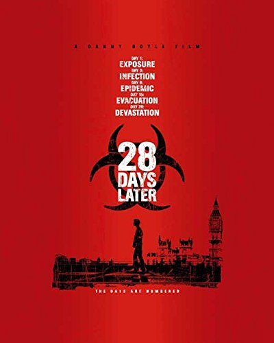 28 Days Later Flier Movie D (27 x 40 Inches - 69cm x 102cm) Alex Palmer Bindu De Stoppani Jukka Hiltunen David Schneider Cillian Murphy Toby Sedgwick