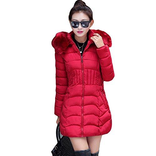 Veste Manteau Long Hiver Jacket mioim Femme Elegant Doudoune Duvet Mi a1nxz8A