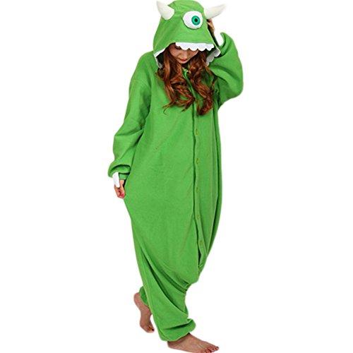 Ailimis Cartoon Unisex Adult Animals Cosplay Costumes Onesie Mike S -
