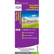IGN /86101 PAYS-BAS, BELGIQUE & LUXEMBOURG - BENELUX