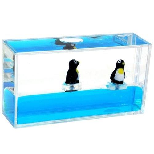 Penguins Aquarium Calming Visual Sensory Fidget Toy Stimulation Stress Relief Autism ADHD
