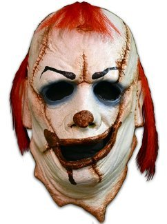 Ever Costumes Scariest Clown (Clown Skinner Face Mask)