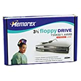 Memorex 1.44MB USB Floppy Drive (Black) (Discontinued by Manufacturer)
