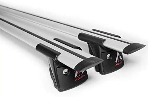 ohne Panoramadach Aguri Dachtr/äger Peugeot 308 SW Kombi ab 2014 mit aufliegender Dachreling
