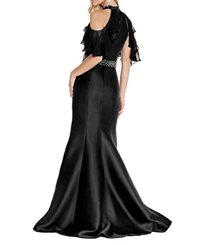 mia Ballkleider Abendkleider Grün Brau Elegant Meerjungfrau La Festlichkleider Abschlussballlkleider Lang Satin 7xCO4OqWdw