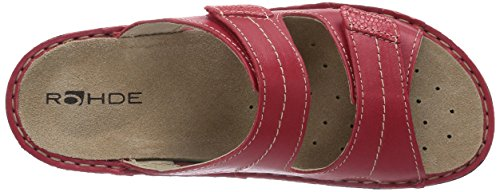 Rohde Mainz Dames Mules Rood (red 40)