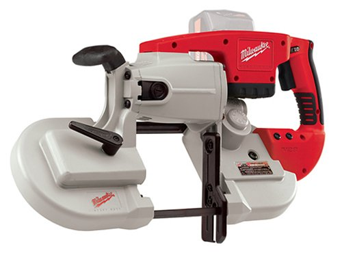 Bare-Tool Milwaukee 0729-20 V28 4-3/4-Inch by 4-3/4-Inch Capacity 28-Volt Lithium Cordless 2 Range-Variable Speed Portable Band Saw (Tool Only, No Battery) by Milwaukee