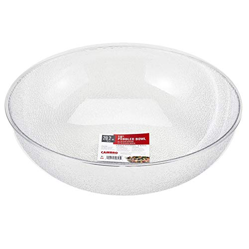 Cambro (PSB18176) 20-1/5 qt Round Pebbled Bowl - -