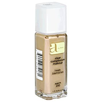 Almay Clear Complexion Makeup, Warm 280, 1-Ounce Bottle