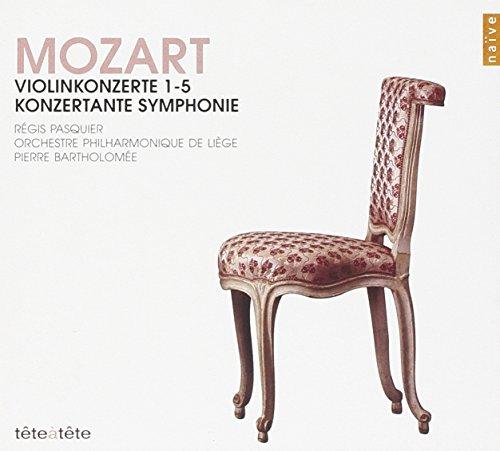 Mozart: Violin Concertos No. 1-5 (K. 207, 211, 216, 218, 219), Sinfonia Concertante in Eb Major, K. 364 (Mozart Violin Concerto No 2)
