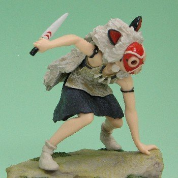 Amazon.com: Studio Ghibli Princesa Mononoke: sannoru Caja de ...