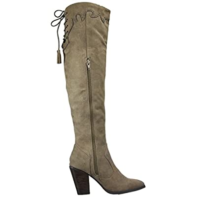 Report Women's Dilena Western Boot | Over-the-Knee