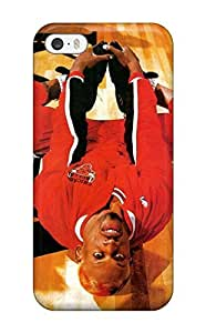 New Nba Chicago Bulls Dennis Rodman Basketball Tpu Case Cover, Anti-scratch EUyWqzk1985SbqtS Phone Case For Iphone 5/5s