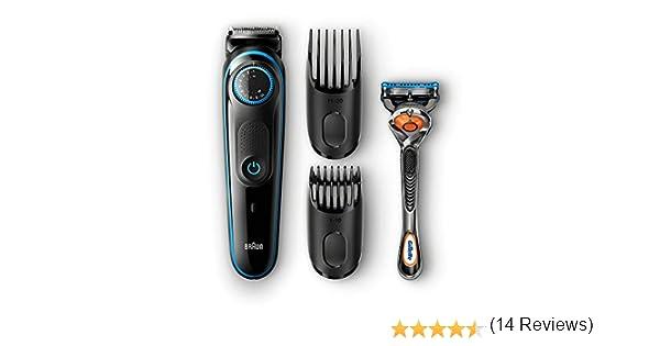 Braun BT5040 - Cortapelos para Barba + 2 Cabezales de Peine + Gillette Fusion5 ProGlide: Amazon.es: Electrónica