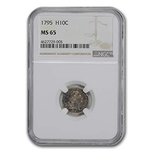 1795 Flowing Hair Half Dime MS-65 NGC Dime MS-65 NGC